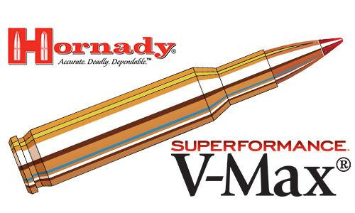 <b>(Store Pickup Only)</b><br>Hornady .222 Superformance V-MAX, 50 Grain Box of 20 #8316