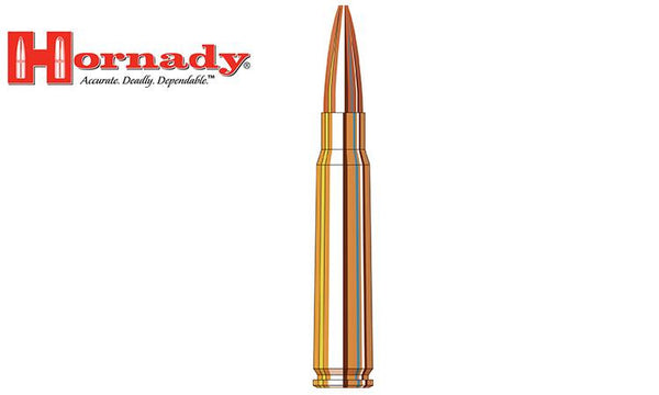 <b>(Store Pickup Only)</b><br>Hornady 8x57 JS BTHP Vintage Match, 196 Grain, Box of 20 #82298