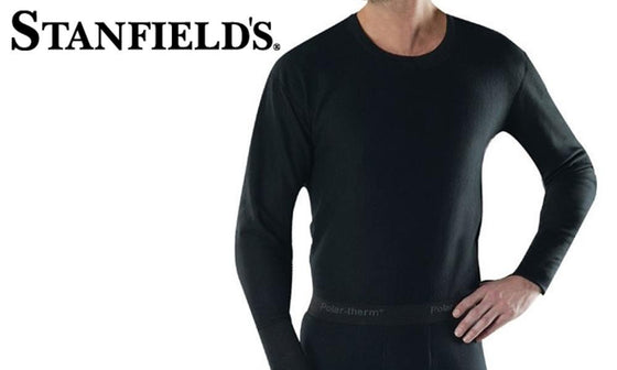 Stanfields Micro Fleece Crew Top #4985