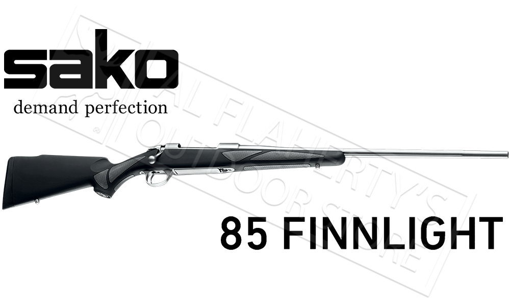 Sako 85 Finnlight Rifle, Bolt Action Fluted Barrel