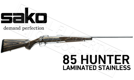 Sako 85 grey Wolf Hunting Rifle Stainless Laminate Stock