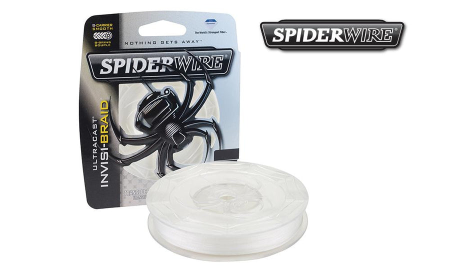 Spiderwire Ultracast INvis-Braid Fishing Line, Translucent, 125 Yard Spools #SCUC