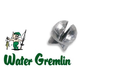 Water Gremlin Removable Split Shot, Size 2, Zip Lip Pack of 10 #PSS-2