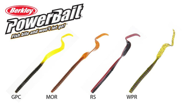 Berkley  PowerBait Power Worms, Size 10, Various Colours #PBBPW10