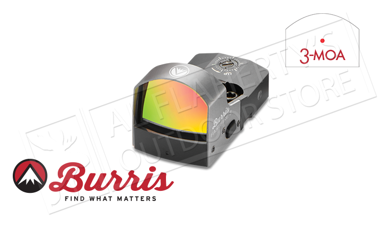 Burris Reflex Sight FastFire III  with Picatinny Mount, 3 MOA Dot #300234