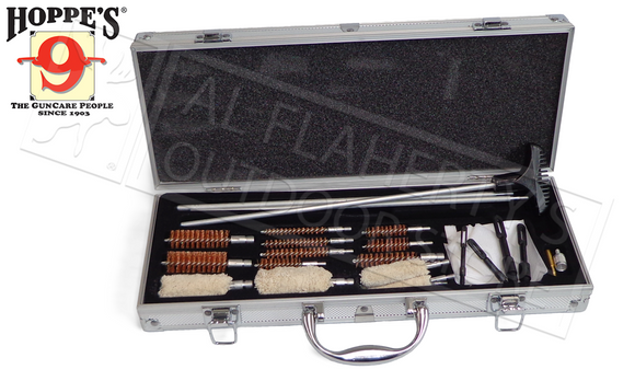 Hoppe's Universal Gun Cleaning Accessory Kit, 76 Pieces #UAC76