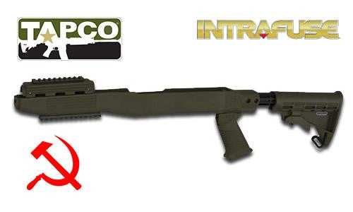 TAPCO Intrafuse SKS Stock Railed STK66169