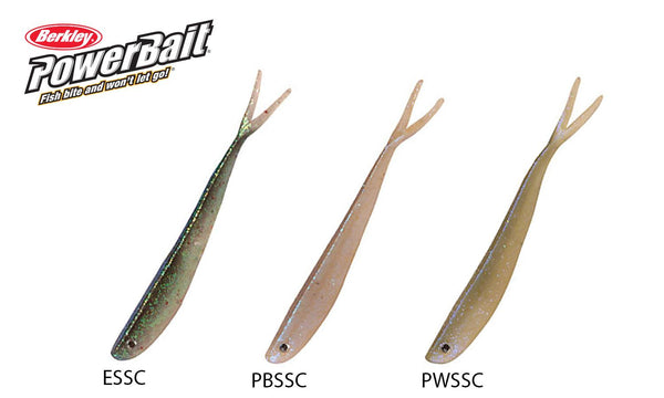 Berkley PowerBait Dropshot Minnows, Size 3, Various Colours #PBBSDPBM3