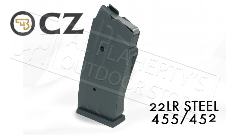CZ 455 or 452 Magazine, .22LR 10-Round Steel #5133-1200-01ND