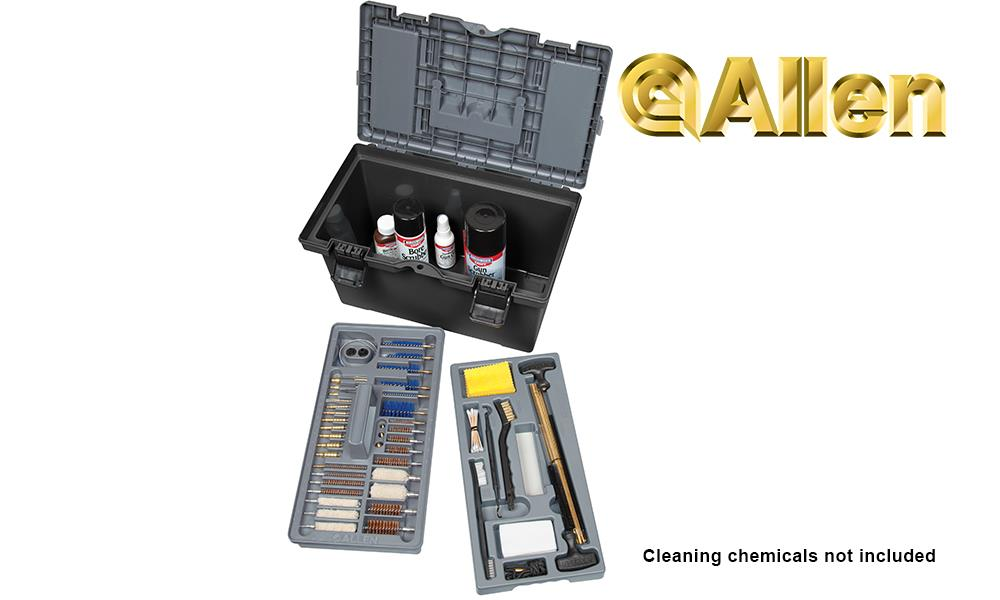 Allen Ultimate Tactical Gun Cleaning Kit, 66 Pieces #70541