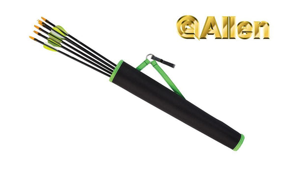 "Allen Tube Hip Quiver - 17"" Green and Black #7035"
