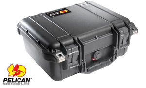 Pelican 1400 Hard Case Black, Small Case
