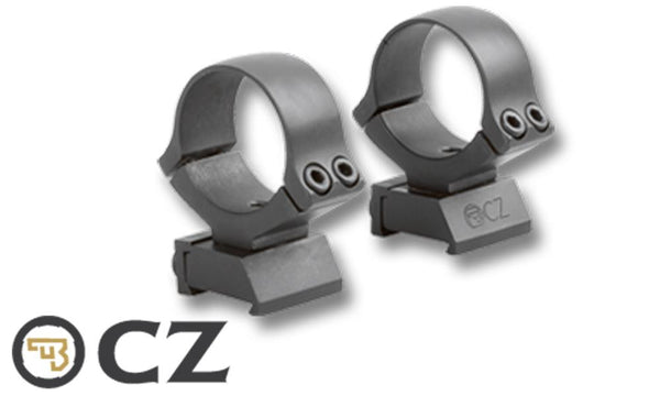"CZ Scope Mount 1"" Steel for Rimfire CZ 452 453, 455, and 512 Series, 6693-3000-01ND"