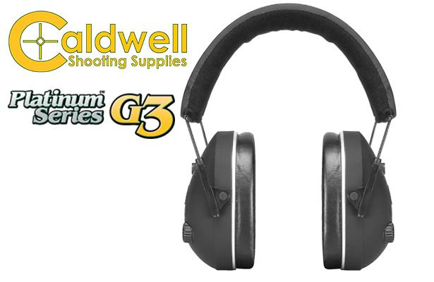 Caldwell Platinum Series G3 Hearing Protection 864446