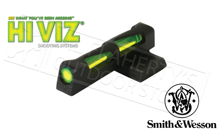 HiViz LITEWAVE #SW2014 Front Sight S&W M&P Full Compact and Shield Series Pistols