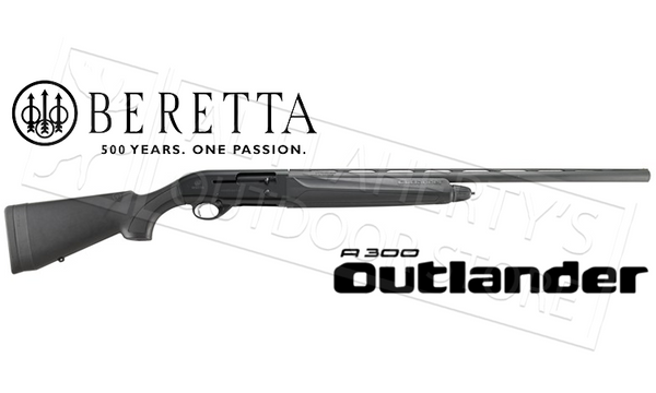 "Beretta A300 Outlander 12 Gauge, 28"" Barrel, 3"" Chamber, Black #J30TT18"