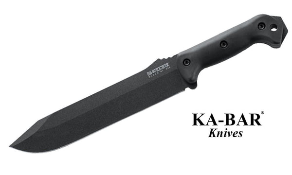 KA-BAR Becker Combat Bowie Knife #BK9