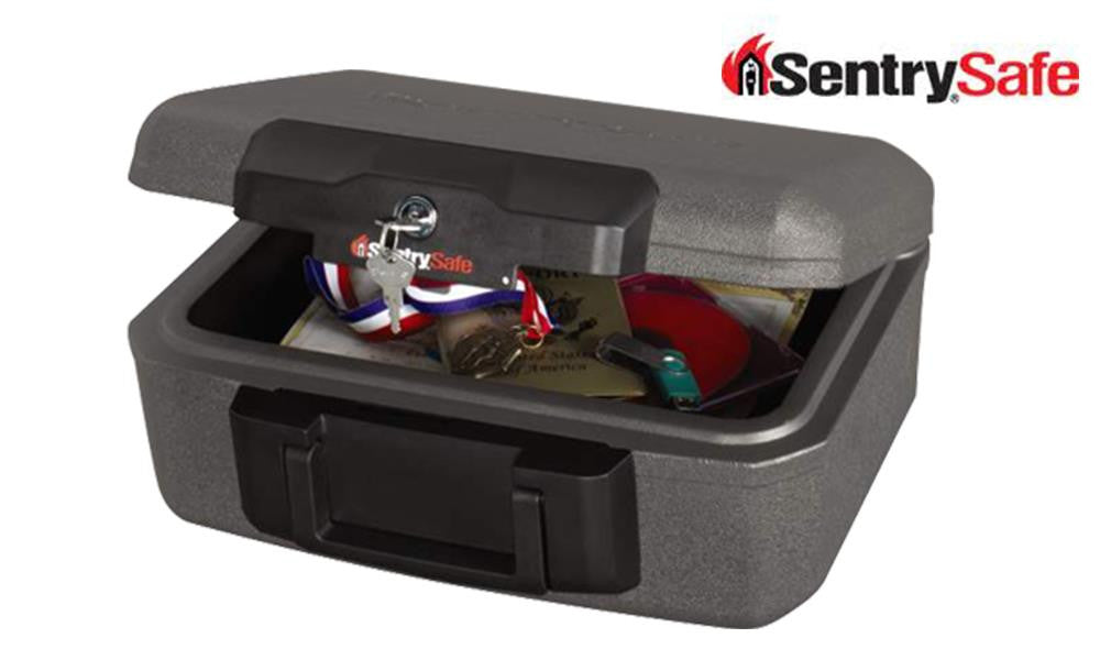 Sentry Safe Small Lock Chest with Handle #1210