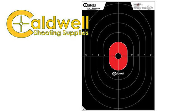 Caldwell Silhouette Target Center Mass 25 Pack 128034