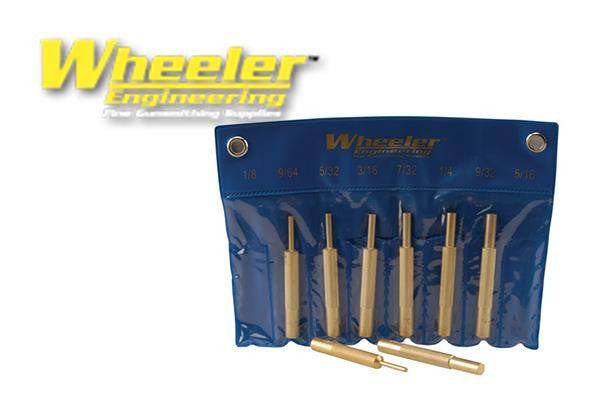 Wheeler 8-Piece Brass Punch Set #780194
