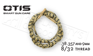 Otis Ripcord Boresnake for .38 .57 and 9mm Caliber Handguns #FG-RC-338