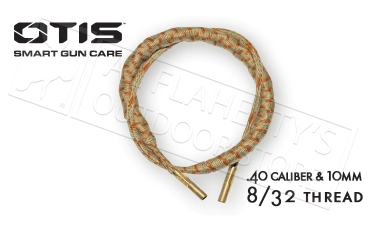 Otis Ripcord Boresnake for .40 Caliber and 10mm Handguns #FG-RC-341