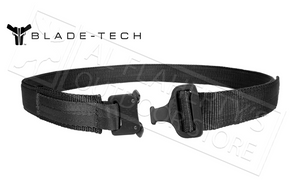 Blade-Tech Instructors Belt with Cobra Buckle, Small to Extra Large #APPX0105CBRABTBLK