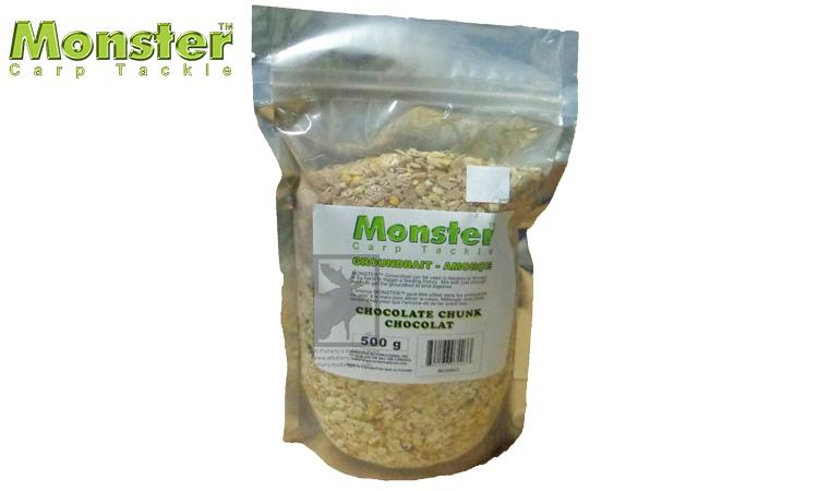Monster Carp Groundbait, Chocolate Chunk, 500g #MCGBCC