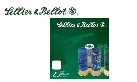 "12 Gauge - Sellier & Bellot,  2-3/4 "" 1 oz Special Sport Slug Box of 25 #V051930"