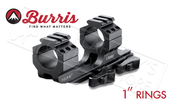 "Burris Mount AR-P.E.P.R., Quick Detach 1"" w/Picatinny Top Rings #410344"