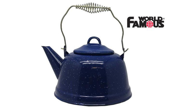 World Famous Enamel Kettle, 2.5L #708