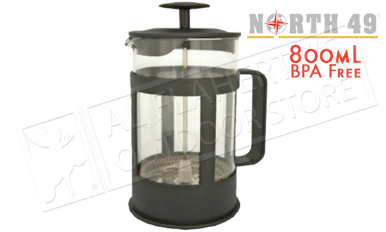 #2742 - North49 French Press Coffee Maker & Tea Press 800ml
