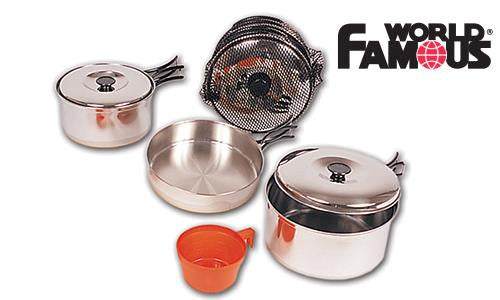 World Famous Stainless Cook Set #730A