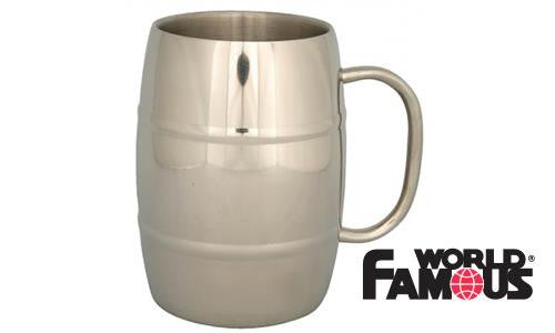 WFS Stainless Insulated Beer Mug #689