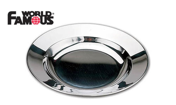 World Famous Stainless Soup Plate #690