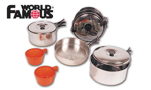 World Famous Stainless Cook Set #732A