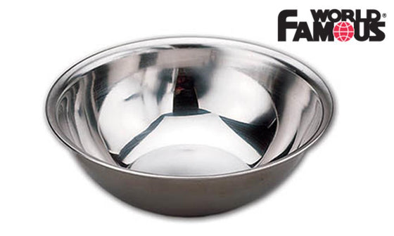 "World Famous Stainless Steel Bowl, 6"" #694"