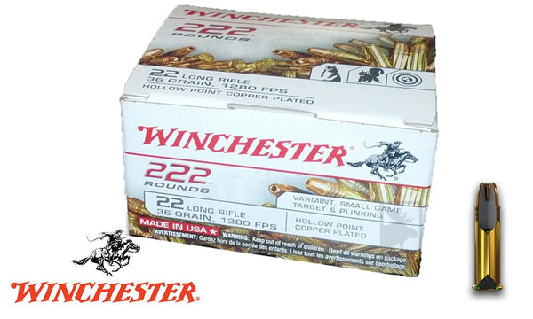 Winchester 222 .22LR Value Pack 22LR222HP