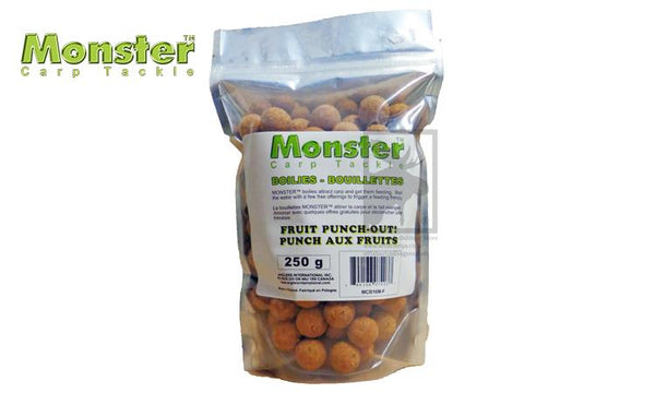 Monster Boilies, 16mm, Fruit Punch-Out!, 250 grams #MCB16M-F