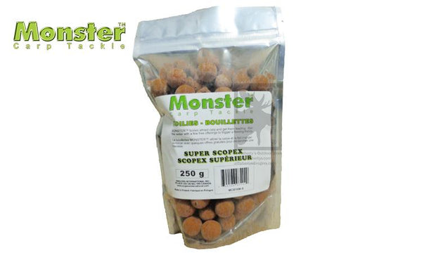 Monster Boilies, 16mm, Super Scopex, 250 grams #MCB16M-S