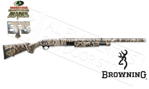 "Browning BPS Shotgun, 12 Gauge, 3.5"" Chamber, 28"" Barrel, Mossy Oak Shadow Grass Camo #012271204"