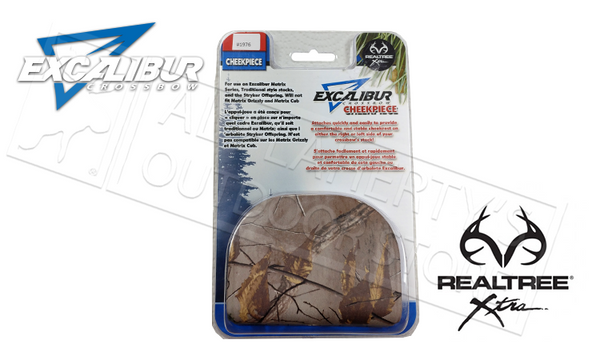 Excalibur Cheekpiece in Realtree Xtra #1976