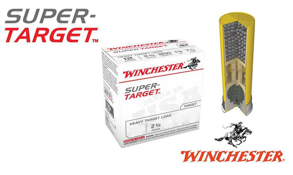 "<b>(Store Pickup Only)</b><BR>20 Gauge, Winchester Super-Target, #8, 2-3/4"", Case of 250 #TRGT208-CASE"