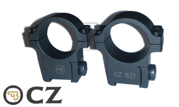 "CZ 527 Steel 1"" Scope Mount PFAPR30100 - 6593-2000-01ND"