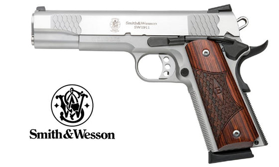 Smith & Wesson SW1911 E-Series Stainless .45ACP 108482