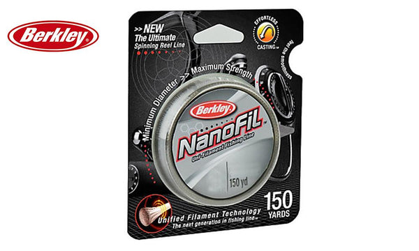 Berkley Nanofil Clear Mist Filler Spool, 150 Yards, CNF15XX-CM