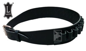 Levy's Leathers Shell Carrier Belt, 12 Gauge, Medium to Extra-Large, Black #SV47