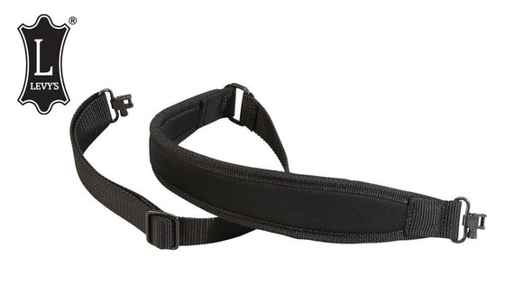 "Levy's Leathers Neoprene Cobra Rifle Sling, 38"" Black #S5NPS"