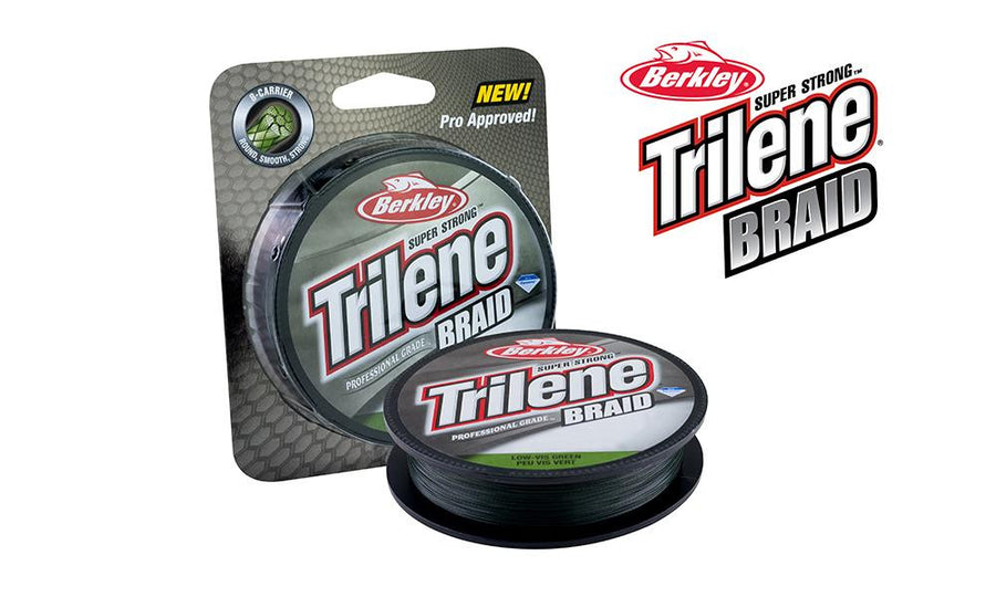 Berkley Trilene Braid - Professional Grade Low-Vis Green, 150 Yard Spools, 20 and 30 lb Test #TBFSxx22