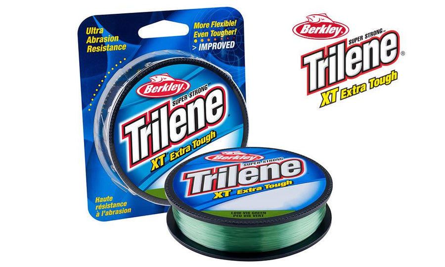 Berkley Trilene XT Xtra Tough, Low-Vis Green, 330 Yards, 4 to 25 Lb. Test #XTFSxx22